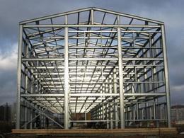 Каркас здания из легких металлоконструкций