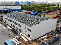 Строительство складов в СПб