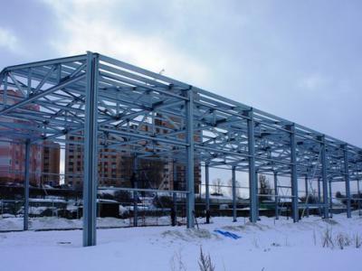Здание под собственное производство 18х72х7,2 м п. Никольское