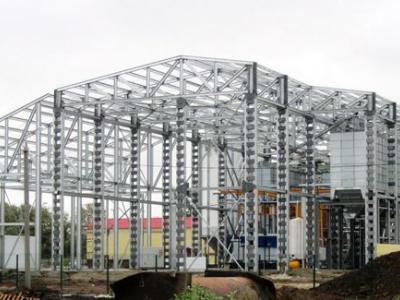 Здание комбикормового завода 21,0х48,0+12,0х24,0х12,5 h (м) Саратовская область