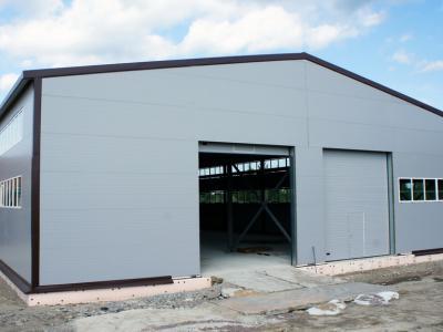 Производственное здание в г. Никольское размером 22х60х6 м